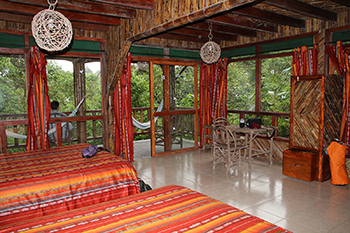 room at milpe lodge