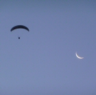 tandem paragliding over Queenstown