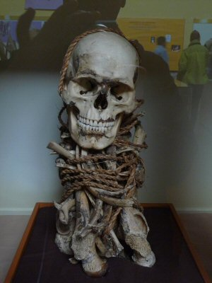 skeleton from mummy Leymabamba